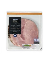 Scottish Peppered Ham Slices