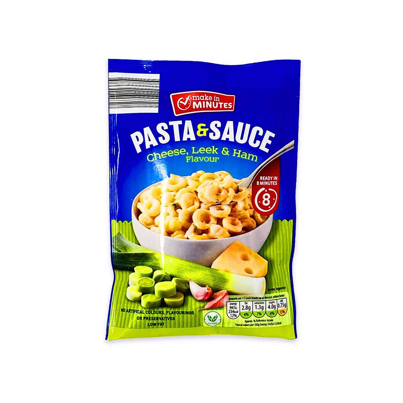 Pasta & Sauce - Cheese Leek & Ham