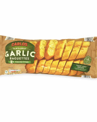 Twin Pack Garlic Baguettes