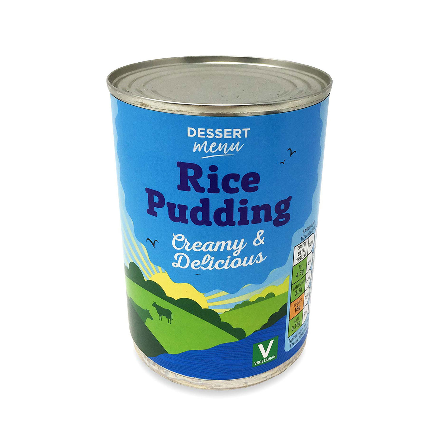 Creamed Rice Pudding