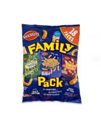 Snackrite Family Pack Snacks 18 Pack