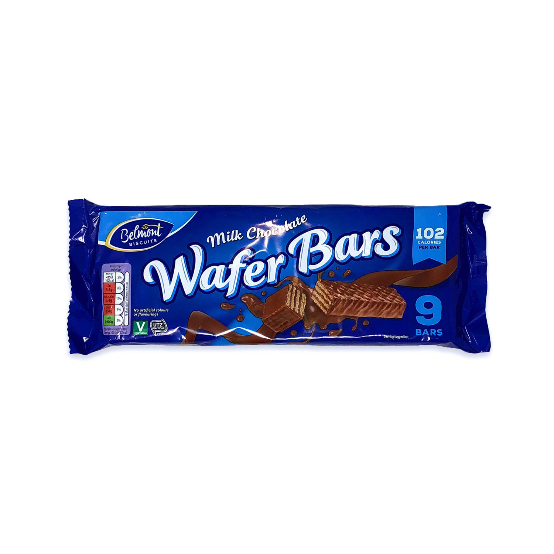 Milk Chocolate Wafer Bars