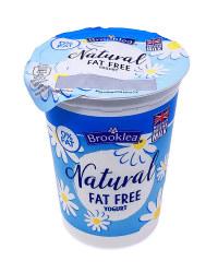 Natural Fat Free Yogurt
