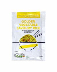 Golden Vegetable Savoury Rice