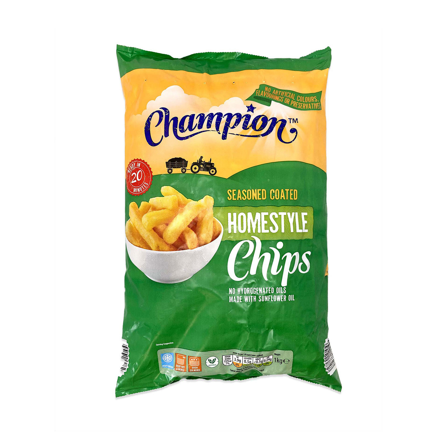 Seasoned Coated Homestyle Chips
