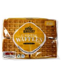 12 Toasting Waffles