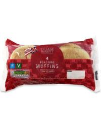 4 Toasting Muffins