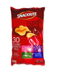 30 Pack Variety Crisps