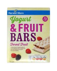 Yogurt And Forest Fruit Bars