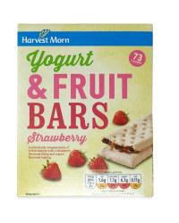 Yogurt & Strawberry Bars