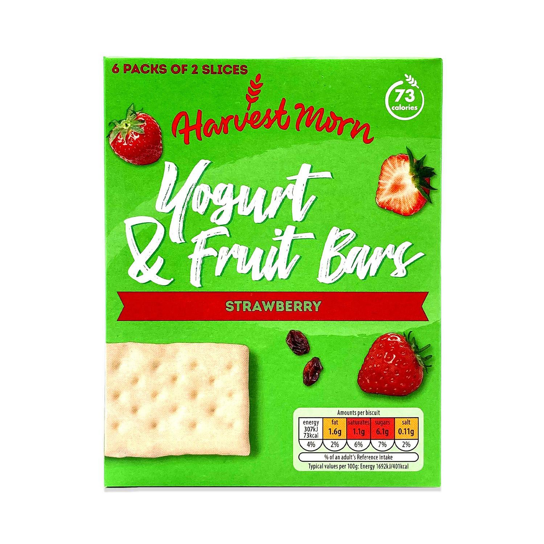 Yogurt & Fruit Bars Strawberry
