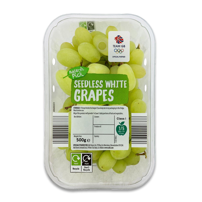 Nature's Pick White Seedless Grapes