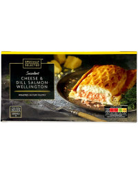 Cheese & Dill Salmon Wellington