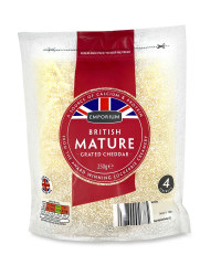 British Mature Grated Cheddar