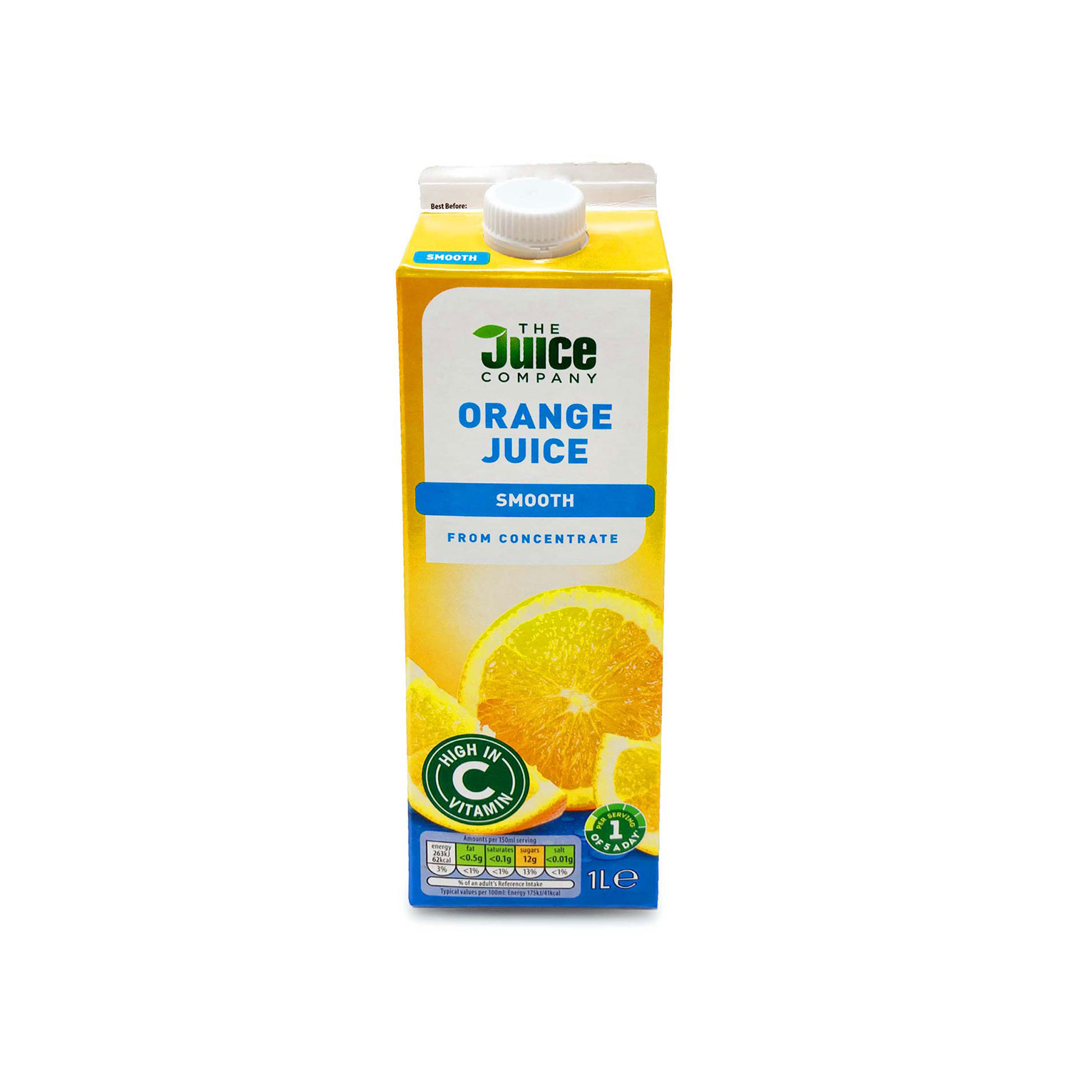 Orange Juice From Concentrate