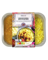 Chicken Korma With Pilau Rice