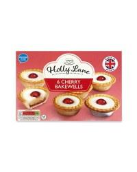 Holly Lane Cherry Bakewells 6 Pack