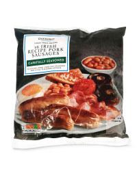 16 Irish Recipe Pork Sausages