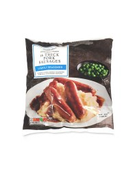 Frozen Seasoned Thick Pork Sausages