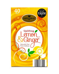 Uplifting Lemon & Ginger Tea