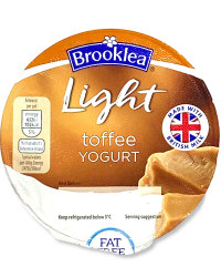 Light Toffee Yogurt