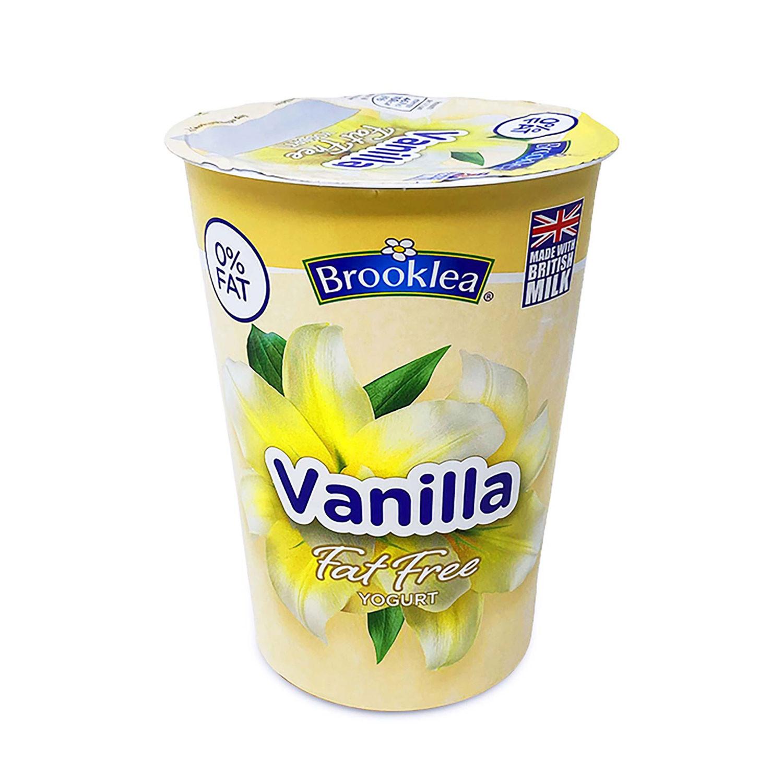 Vanilla Fat Free Yogurt