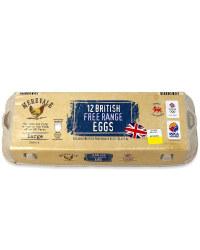 12 British Free Range Eggs