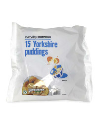 15 Yorkshire Puddings