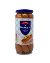 8 Bockwurst Sausages