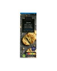 Gourmet Sea Salt Savoury Crackers