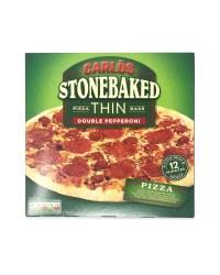 Stonebaked Thin Base Pepperoni Pizza