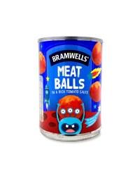 Meatballs In A Rich Tomato Sauce