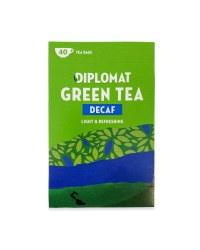 Diplomat Green Tea Decaf 76g
