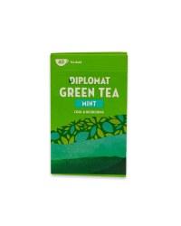 Diplomat Mint Green Tea Bags 40 Pack