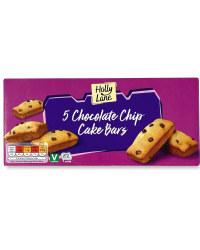 5 Chocolate Chip Cake Bars
