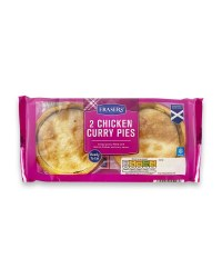 Chicken Curry Pies 2 Pack