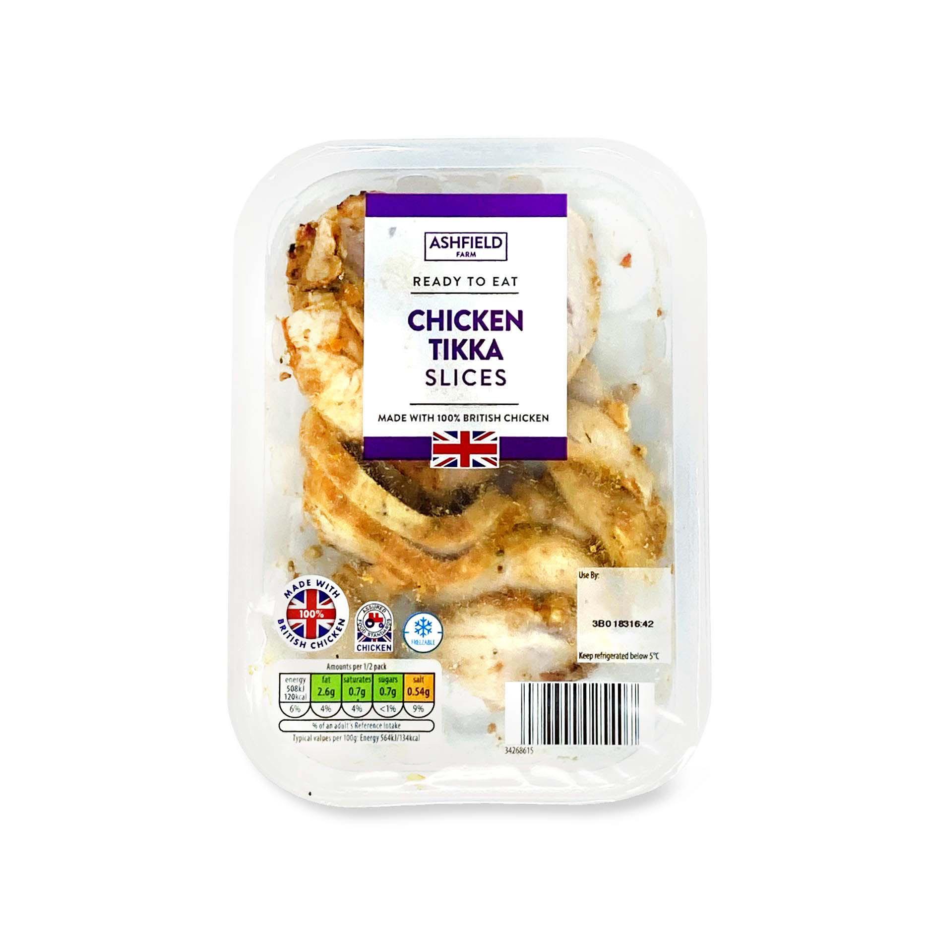 Chicken Tikka Slices