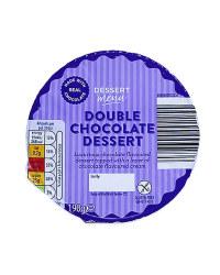 Double Chocolate Dessert