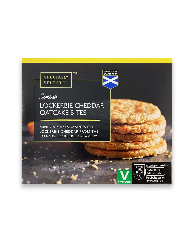 Scottish Cheddar Oatcake Bites