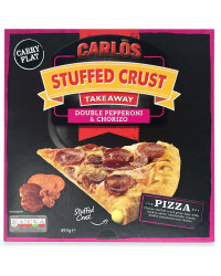 Stuffed Crust Pepperoni & Chorizo