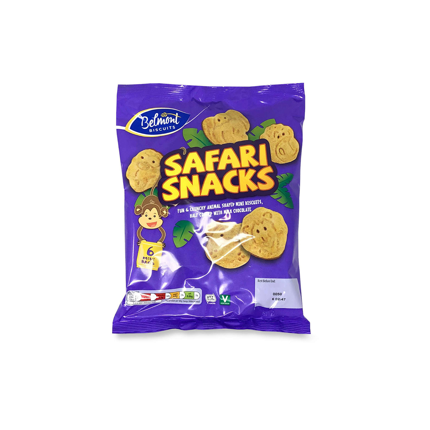 Safari Snacks 6pk