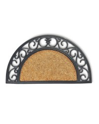 Outdoor Coir Half Moon Mat