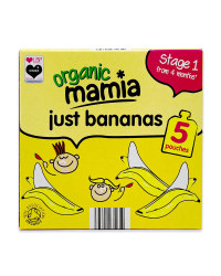 Mamia Organic Fruit Pouch Multipack