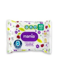 Mamia Toddler Toilet Wipes 60 Pack