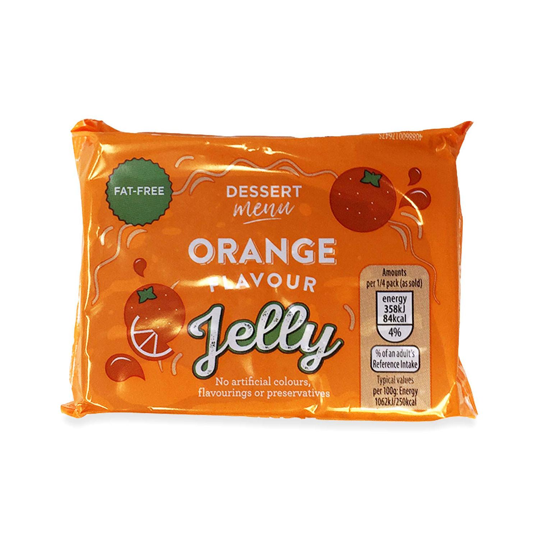 Orange Flavour Jelly