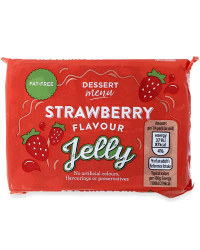 Strawberry Flavour Jelly