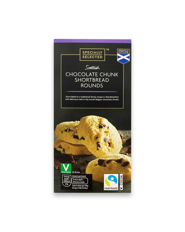 Scottish Chocolate Chunk Shortbread