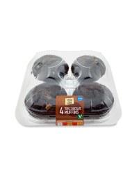 4 Triple Chocolate Muffins