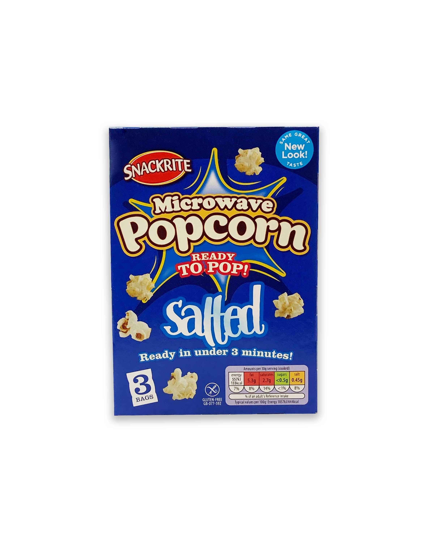 Microwave Popcorn Salted