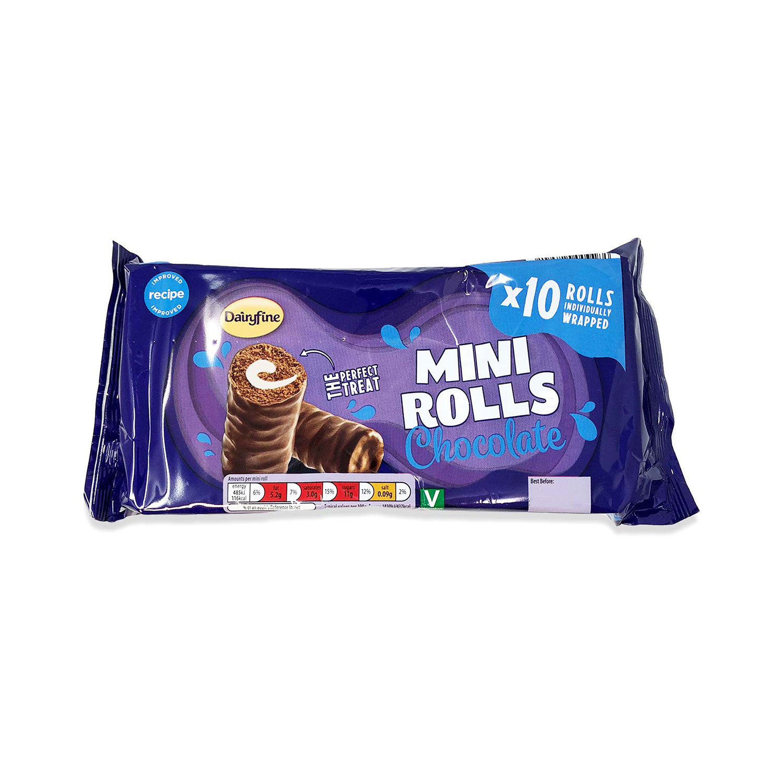 Chocolate Mini Rolls